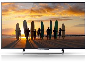 Sony Bravia, LED-Backlight-Fernseher, schwarz